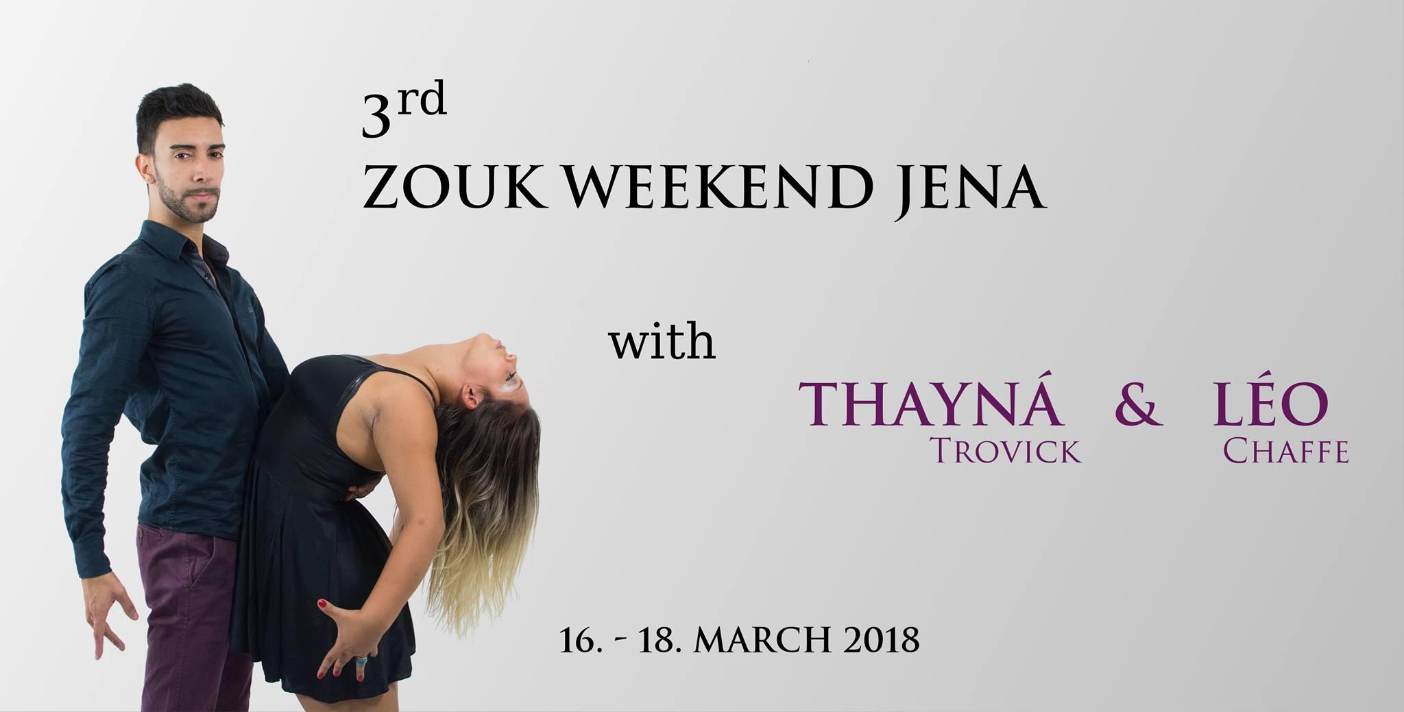3. Zouk Weekend Jena - Thayná & Léo